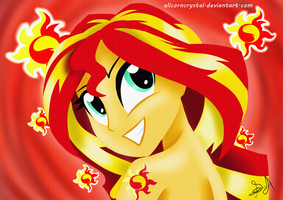 Sunset Shimmer - Element of Gratitude by AlinaDreams00