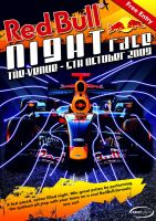 Red Bull Race Night Flyer by squiffythewombat