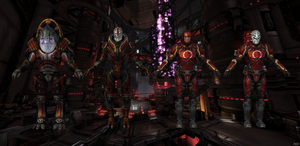 Talon soldiers from Mass Effect 3 for XNALara by Melllin
