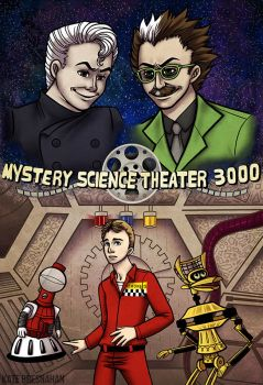 Mystery Science Theater 3000 by katebrezzy