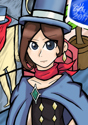 Trucy Wright - Ace Attorney by Seb-LK-585