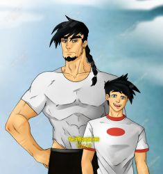 Dan and Danny Fenton by TwistedxSaiyan