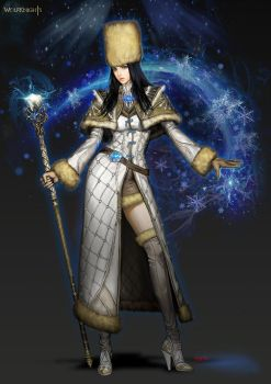 ice mage by sonacia
