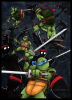 TMNT: Another Fighty by loolaa