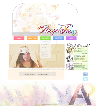 Personal Web Design - First Draft by cyylovers