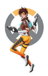 [Overwatch] Tracer by Maneodra