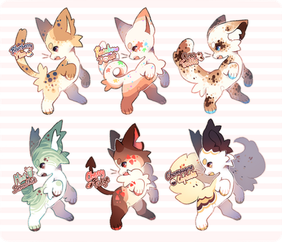 {CLOSED} Cats Adopts! by sugaryu