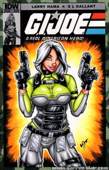 Agent Helix sketch cover by gb2k