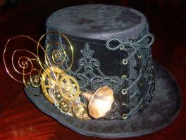 Steampunk Top Hat Contraption by lilibat