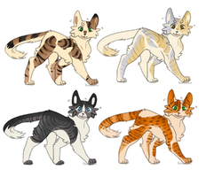 Adoptables | 4/4 CLOSED by Daisynner