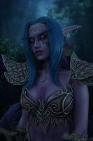 Tyrande - My heart sleeps in the Emerald Dream by Narga-Lifestream