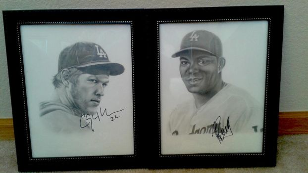 Signed Portraits by AmaniWarrington