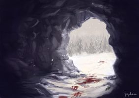 Inside the Cave by Joaru