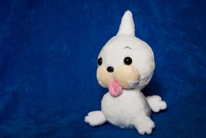 Seel Plushie - Pokemon Commission by tiny-tea-party