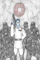 Grand Admiral Thrawn by DWestmoore