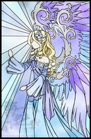 Stained Glass - Radueriel by nocturnefox