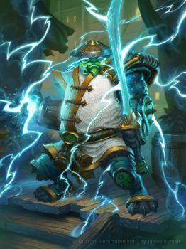 Hearthstone - Storm Guardian by namesjames