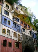 The Hundertwasser House by Kancano