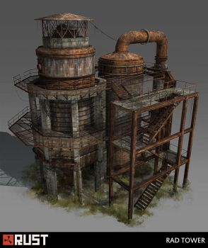 Rust - Rad Tower by Howi3