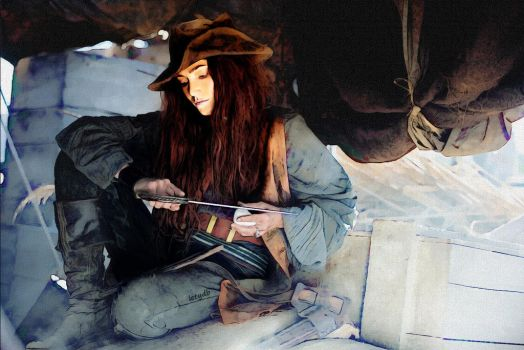 Anne Bonny - Black Sails by letydb