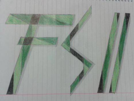 F.S.11 - Dibujo a Mano/Drawing Hand (Logo) by Fedespeed11