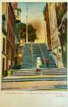 Vintage Canada - Breakneck Steps, Quebec by Yesterdays-Paper