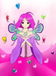 butterfly fairy by blueberrysourcandy