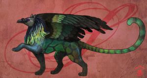 Gryphon Design, Faery-Dustgirl by Bailiwick