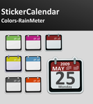 StickerCalendar Colors by alexgt04