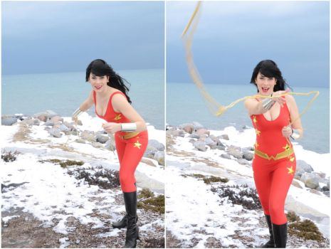 Wonder Girl by gillykins