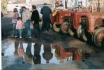 Tractors + Puddles by sadisticwench