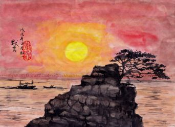 A Painting Within A Poem by moyan
