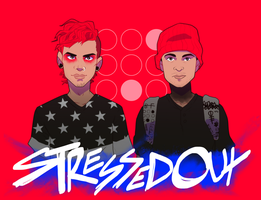 twenty-one pilots STRESSED OUT by tabby-like-a-cat