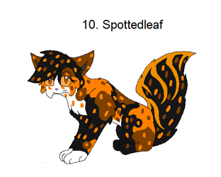 10.Spottedleaf by Legend-series