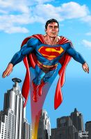 Superman Chris Reeve by hamletroman