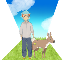 Tomei and Fawn by Flansy