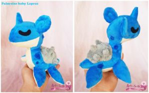 Lapras Plush by scilk