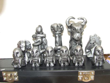 Chess set by Gir-the-piggy-lord