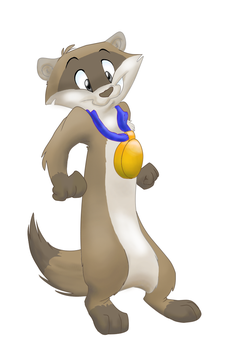 Hubble the heroic ferret by Socalbandit
