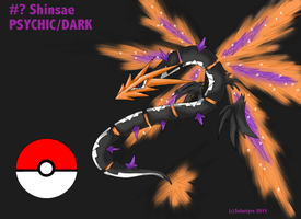 Fakemon Legendary SHINSAE by Solastyre