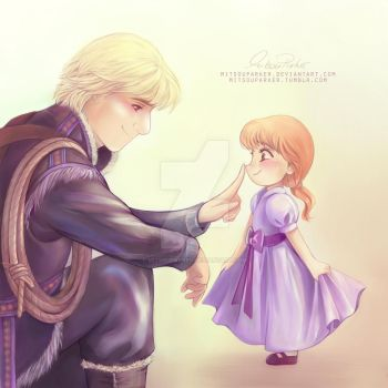 Daddy Kristoff (Commission) by MitsouParker
