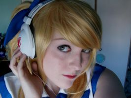 Fairy Tail Headphones by MochiFairy