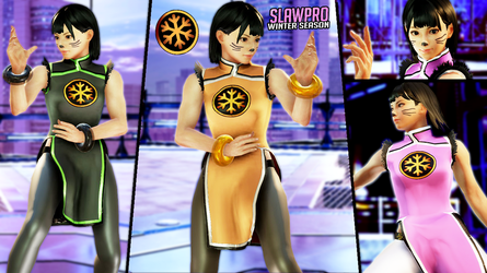 [TK7] Xiaoyu's Winter Season Texture (2018) by SlawPro