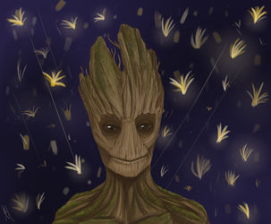 I am GROOT by PokeLucario