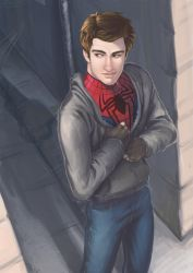 Spidey by Oniwolf12