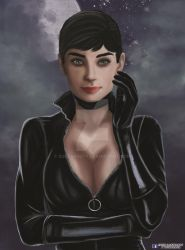 Audrey Hepburn - Catwoman by soul4rusty