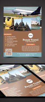Penak Travel Flyer by pascreative