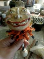 Paper Mache Halloween projects 22 by Shinjuchan