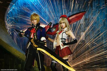 God Eater - Julius and Alisa by vaxzone