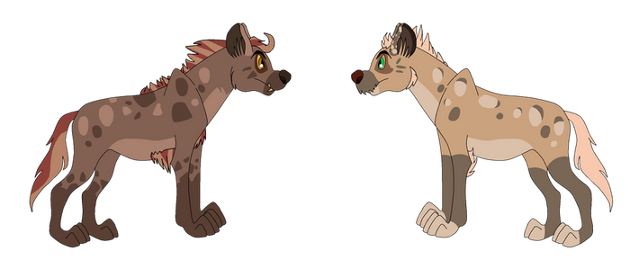 Hyenas for Taai (2 of 2) by Witch-Doctais46